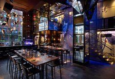 Jeffrey Beers   Toy NYC   Exclusive restaurants design   Amazing restaurant interior design you must see   more at www.designcontract.eu   #restaurantinteriors #luxuryrestaurants #bestinteriordesign