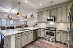 with this Ivy Springs full home renovation. Basement Renovations, Bathroom Renovations, Home Renovation, Floor To Ceiling Cabinets, Before After Kitchen, Industrial Home Design, Atlanta Homes, New Home Construction, Custom Built Homes