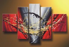 Dancing Lines Abstract Art, Canvas Painting, Acrylic Art for Sale, Huge Painting Abstract Art For Sale, Abstract Wall Art, 5 Piece Canvas Art, Canvas Wall Art, Large Canvas, Large Painting, Hand Painting Art, Painting Canvas, Canvas Paintings For Sale