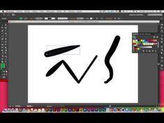 (844) Minitutorial: Trazos con Illustrator I: Aspectos básicos - YouTube Illustrator Tutorials, Symbols, Letters, Youtube, Letter, Lettering, Youtubers, Glyphs, Youtube Movies