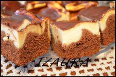 Tradycyjnie z nutką nowoczesności.: Izaura czyli murzynek z serem Polish Cake Recipe, Polish Recipes, Polish Food, Food Cakes, Cheesecakes, Cake Recipes, Sweet Tooth, Ethnic Recipes, Amanda