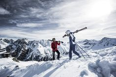 Atemberaubende Freerideabfahrten in den Tiroler Alpen! #DachTirols