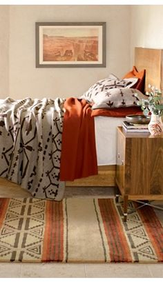 Great Plains Blanket Collection, like the peach and natural colors! Bedding Collections, Home Collections, Luxury Interior, Interior Design, Faux Stone Panels, Sleeping Loft, Southwestern Style, Southwestern Blankets, Bedroom Colors