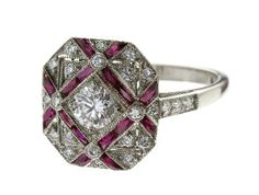 similar to a sapphire and diamond ring we lost the bid on!