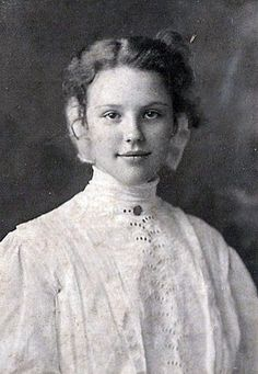 lovely Edwardian teenager by rosewithoutathorn84, via Flickr