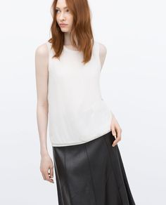 ZARA - - - LONG TOP
