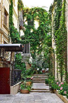 old city, Baku. Azerbaijan