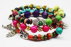Hey, I found this really awesome Etsy listing at https://www.etsy.com/listing/177502358/boho-wrap-memory-bracelet-buddha-charm