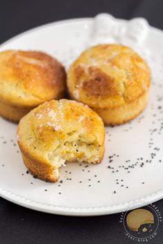 Petits gâteaux moelleux citron / pavot bleu