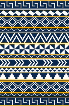 Tribal Pattern Art Print by Taylor Payne