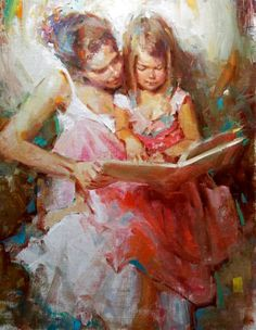 Impressionist Figurative painter Kevin Beilfuss (American: 1963)
