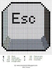 Escape Button · Cross-Stitch | CraftGossip.com