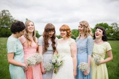 One of our Spring Bridal parties Hair & makeup WHAM Artists http://weddinghairandmakeupartists.com/