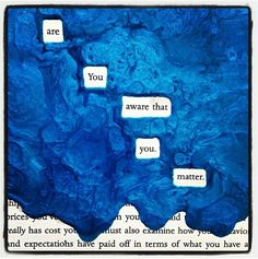 Blackout poetry is awesome More