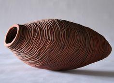 Cathy Keys_W.A.S.P_, 2009, earthenware ceramics, oxides, 20cm(h)x45(w), photographer - Cathy Keys