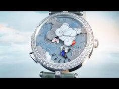 Lady Arpels Ronde des Papillons watch - Van Cleef & Arpels - YouTube