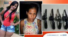 NONATO NOTÍCIAS: MULHER PRESA COM 4 ARMAS EM SALVADOR AO EMBARCAR C...