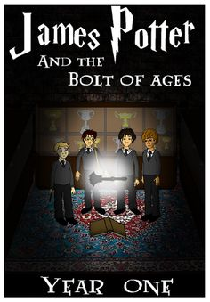 James Potter Project Books James Potter and the Bolt of Ages James Potter Project
