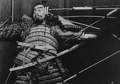 Toshiro Mifune in Throne of Blood-Akira Kurosawa, 1957