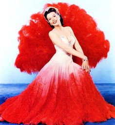 Ann Miller from Easter Parade. Love the red fan!