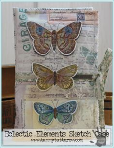 Eclectic Elements Sketch Case by Tammy Tutterow   www.tammytutterow.com