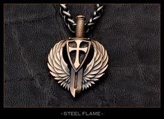 Steel Flame - Sancte Michael, $295.00 (http://www.steelflame.com/sancte-michael/)