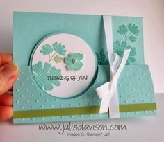 Julie's Stamping Spot -- Stampin' Up! Project Ideas Posted Daily: Leadership Arrival + Gifts of Kindness Circle Card