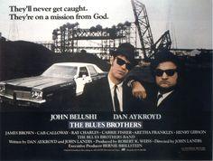 1980 Les Blues Brothers (The Blues Brothers) est un film américain culte des réalisé par John Landis, avec pour acteurs vedettes John Belushi et Dan Aykroyd