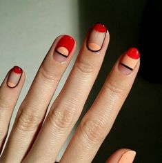 Simple and modern manicure inspiration More