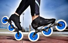 Know How To Learn Skating, Examine The Right Method Urban Chic, Inline Speed Skates, Skate Wheels, Need For Speed, Racing Team, Squats, Cycling, Take That, Training