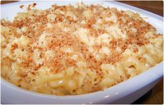Extra cheesy Homemade Macaroni & Cheese - Oh so creamy!