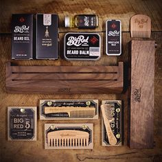Deconstructed Master Kit. Everything a beard could desire. Thanks for everyone that's placed a pre order and been so patient. Working on getting these out by Wednesday. Just in time for Christmas. #bigredbeardcombs #beardcomb #pocketcomb #comb #beardoil #beardbalm #mustachewax #mensgrooming #menstyle #mensfashion #beardcare #mensstyle #gentleman #girlswholovebeards #movember #beardgang #beardgame #beardlife #beardstildeath