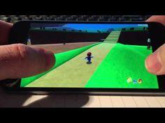 Logran correr Super Mario 64 en iOS - http://www.actualidadiphone.com/logran-correr-super-mario-64-en-ios/