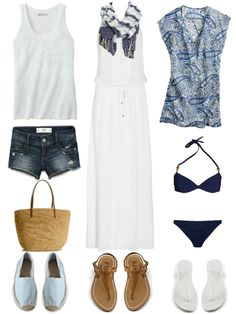 #Hawaii #Packinglist ~~Need to add a few more pieces (fedora) but definitely works for our 2nd summer trip :))