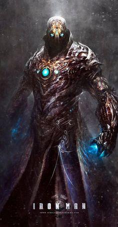 "uggly: ""Iron Man / Dark / Steampunk - by Dibujante-nocturno """