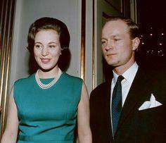 Danish Princess Benedikte and Prince Richard