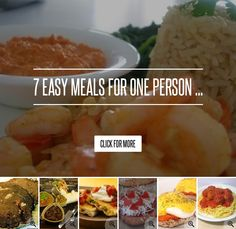 7 easy meals for one person lifestyle benedict recipes lifestyle benedict recipes for one person pinterest easy meals meals and lifestyle forumfinder Choice Image