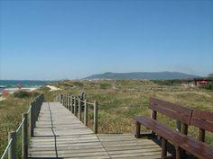Amorosa beach boardwalk.