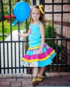 Bella Twirl Skirt - PDF Pattern by Bella Marie Boutique - $7.96 : Whimsical Designs