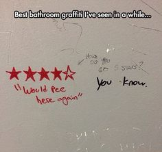 Find images and videos about funny, bathroom and graffiti on We Heart It - the app to get lost in what you love. Stupid Funny Memes, Funny Relatable Memes, Funny Posts, The Funny, Funny Quotes, Hilarious, Funny Stuff, Funny Things, Funniest Things