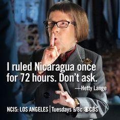 Fun 'NCIS: Los Angeles' Memes: The Wisdom and Secrets of Hetty Lange