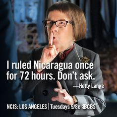 Fun 'NCIS: Los Angeles' Memes: The Wisdom and Secrets of Hetty Lange