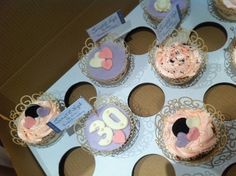 Mel and My Cakes decorated for a 30th wedding anniversary