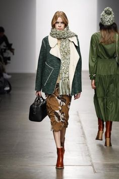 The Coziest Runway Looks We Wish We Could Wear Now - Fall/Winter 2015 from #InStyle