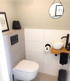 - View 31 inspiring examples of a toilet - ., Toilet - View 31 inspiring examples of a toilet - ., Toilet - View 31 inspiring examples of a toilet - . Small Toilet Room, Guest Toilet, Downstairs Toilet, Small Bathroom Storage, Bathroom Design Small, Bathroom Styling, Serene Bathroom, Bathroom Interior, Bathroom Ideas