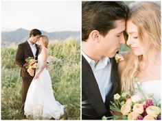 perfect bride and groom portraits by Elisa B Photography