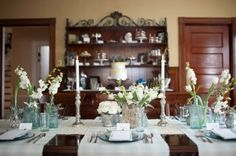 Nice and simple table setting