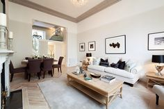 Modern Country Style blog: Livng/Dining Rooms...Making The Space Work For You!