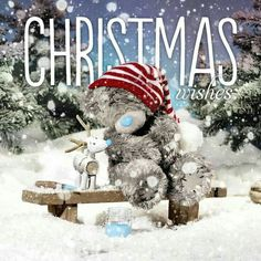 Me To You Christmas - Winter 2016 Christmas Poems, 3d Christmas, Christmas Scenes, Christmas Pictures, Vintage Christmas, Xmas, Tatty Teddy, Teddy Images, Teddy Bear Pictures