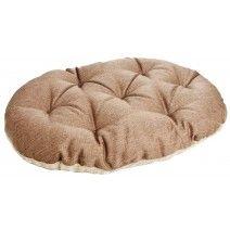 P Superior Pet Beds - Oval Cushion Pads - Beige Basket Weave / Oatmeal Fleece Cushions For Sale, Dog Cushions, Pet Beds, Dog Bed, Dog Varieties, Cushion Pads, Bean Bag Chair, Weave, Oatmeal